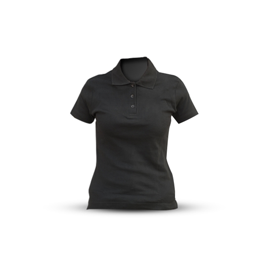 Picture of BLACK SHORT-SLEEVED POLO SHIRT