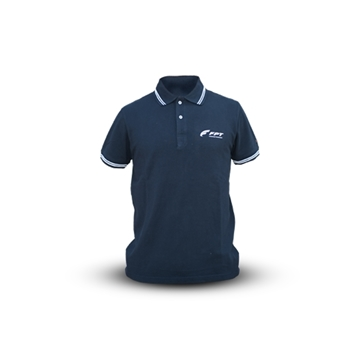 Picture of BLUE AND WHITE SLAM POLO SHIRT