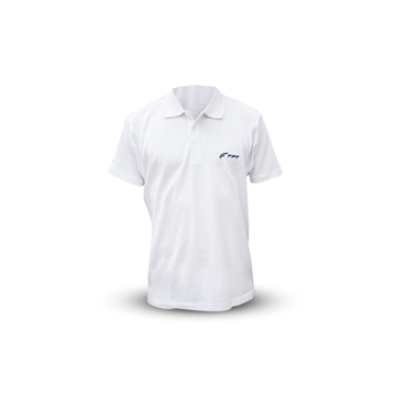 Picture of WHITE SHORT-SLEEVED GIBSON POLO SHIRT