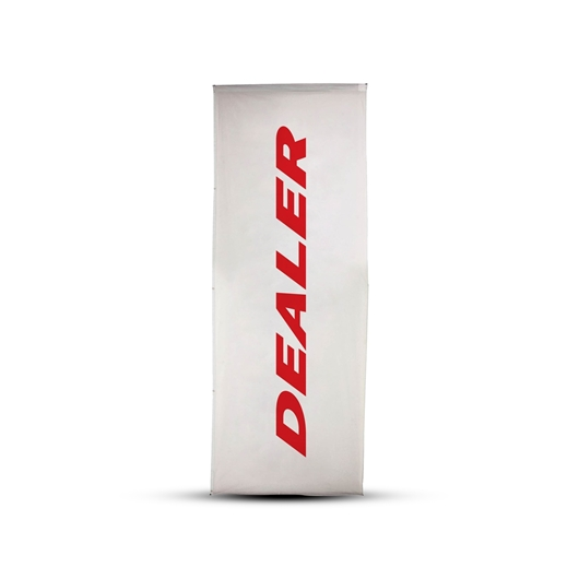 Picture of Dealer flag, 75x200 cm, rotating pole