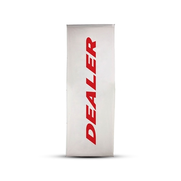 Picture of Dealer flag, 150x400 cm, standard pole