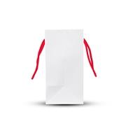 Picture of White small paper shopper