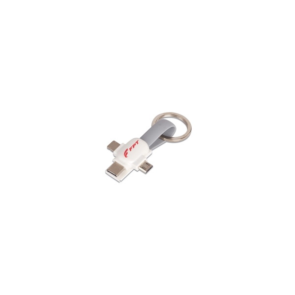 Picture of Key chain 3-in-1 adapter
