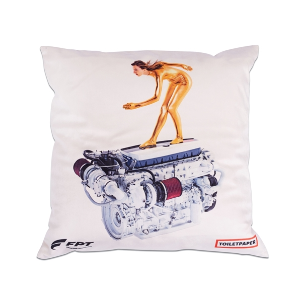 """Picture of PILLOW, """"ENGINE"""""""