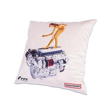 "Picture of PILLOW, ""ENGINE"""
