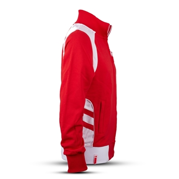 Image de SWEAT-SHIRT HOMMES, rouge/blanc