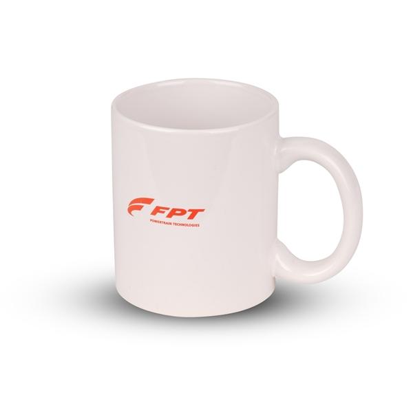 Image sur White Ceramic Mug